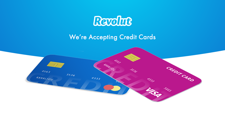 We're accepting credit cards! 💳