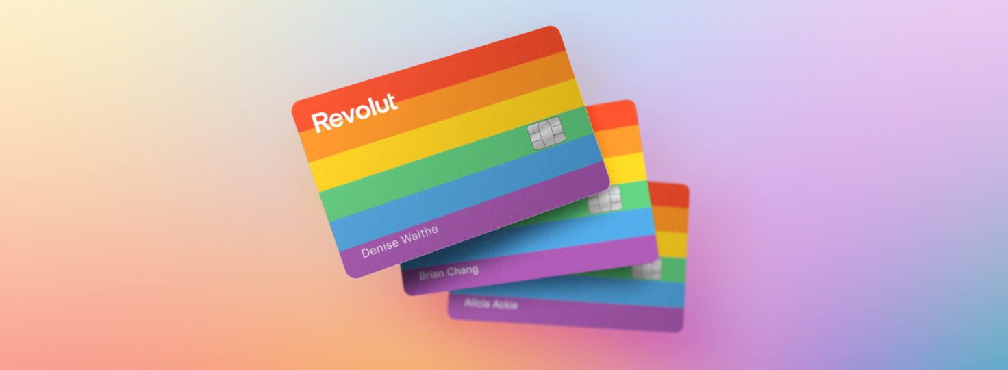 Express yourself this Pride with Revolut